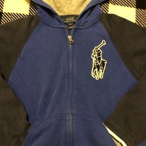 Polo Ralph Lauren zip up hoodie
